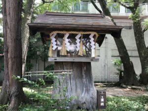 守居神社 恵比須神像