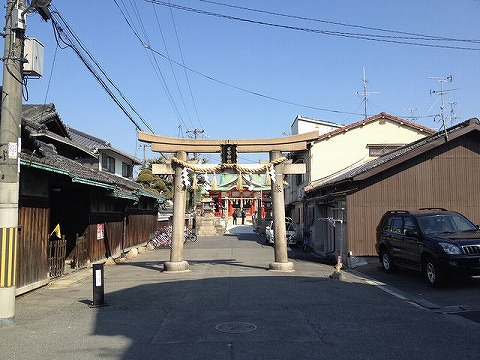 大阪市旭区の日吉神社(すえじんじゃ)