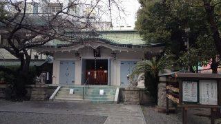 アメリカ村の御津八幡宮(みつはちまんぐう)