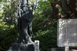 参考神社 寿老人