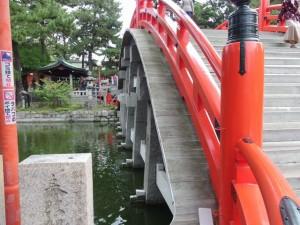 住吉反橋(すみよしそりはし)