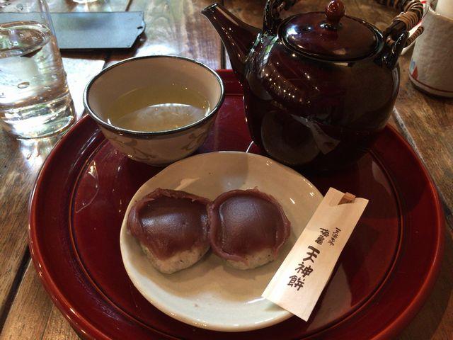 梅亀庵の天神餅