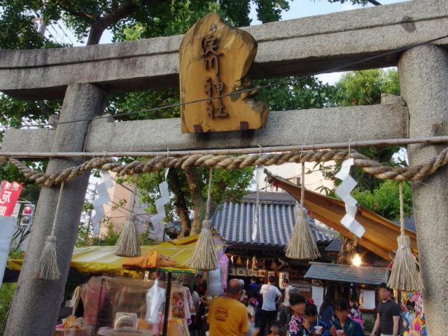 淀川神社 夏祭りと秋祭り